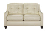 O' Kean Leather Loveseat in 4 Colors