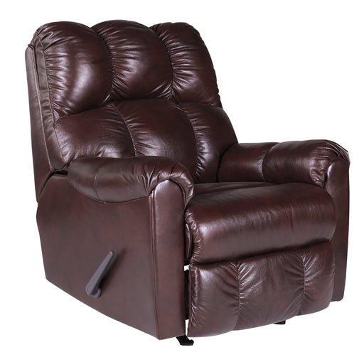 Denaraw - Rocker Recliner - Genuine Leather