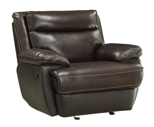 Macpherson - Glider Recliner - Genuine Leather - Optional Power