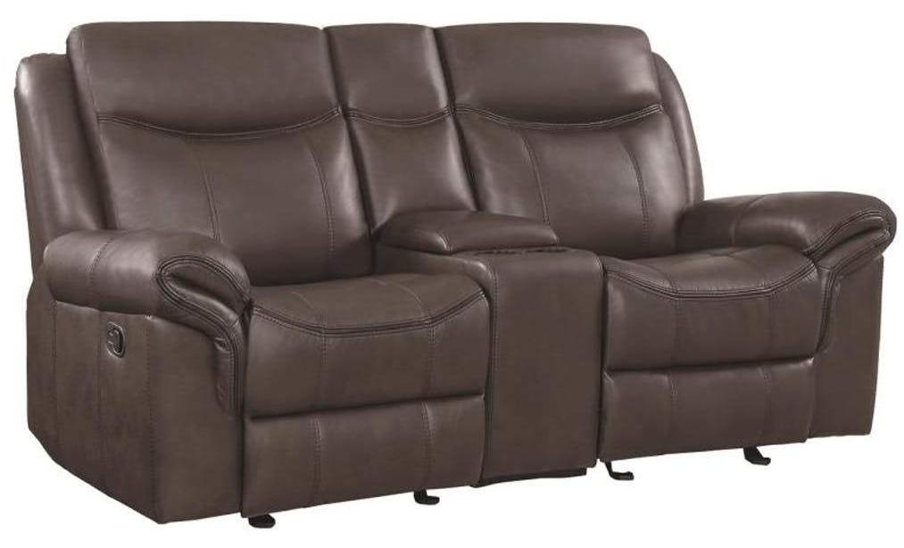Surprising Sawyer Reclining Glider Loveseat W Center Console 2 Colors Pabps2019 Chair Design Images Pabps2019Com