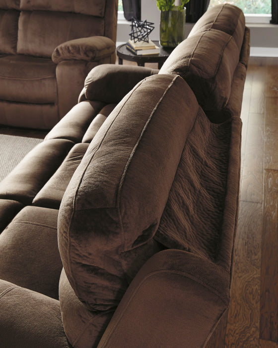 Uhland - Power Reclining Loveseat w/ Adjustable Headrest