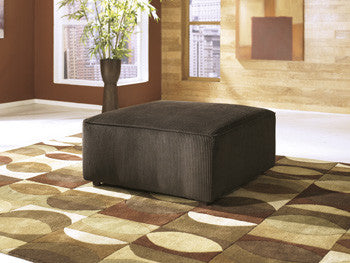 Vista Ottoman - Chocolate