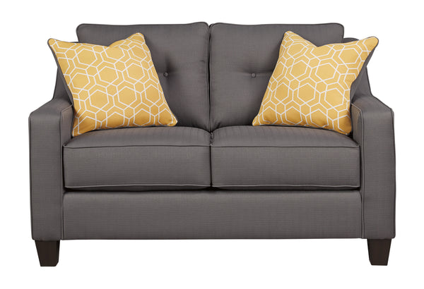 Aldie Nuvella Loveseat in 4 Colors