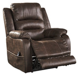 Barling Power Recliner with Adjustable Headrest in 2 Colors