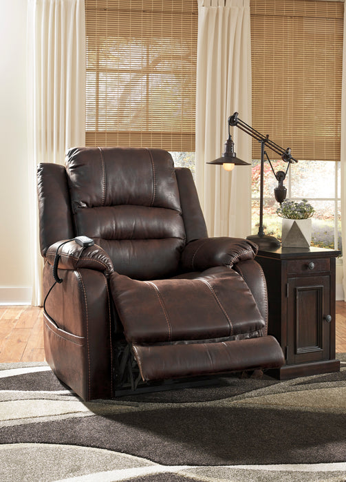 Barling - Power Recliner w/ Adjustable Headrest - 2 Colors