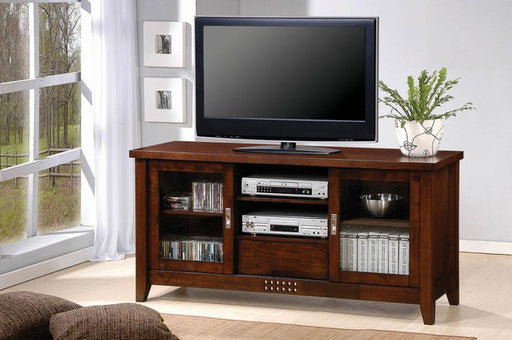Turtle River Transitional Warm Brown TV Console