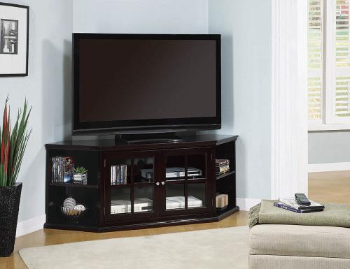 St. Cloud Casual Espresso Corner TV Console
