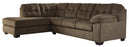 Accrington Sectional Chaise in 2 Colors - Sleeper Available