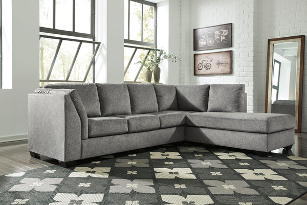 Belcastel Sectional Chaise - Sleeper Available