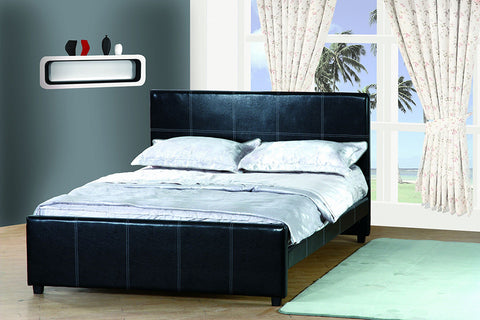 Milton Black Platform Bed