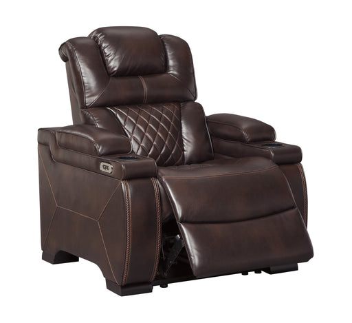 Warnerton - Power Recliner w/ Adjustable Headrest