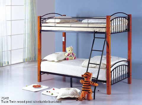 Milton Stackable Bunk Bed in 2 Sizes
