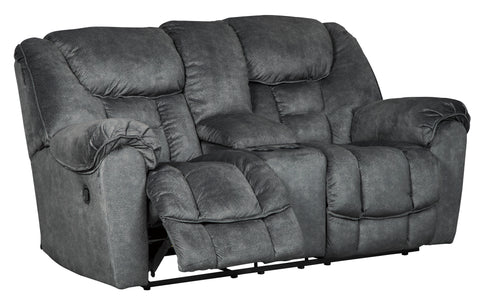 Capehorn - Reclining Loveseat w/ Console - 2 Colors