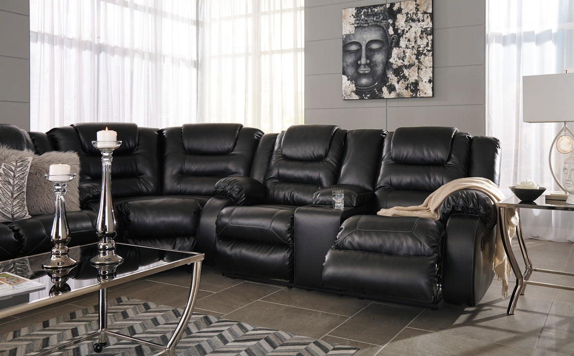 Vacherie Reclining Sectional in 3 Colors