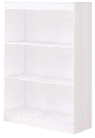 Classic 3 Shelf Bookcase -  3 Colors