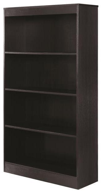 Classic 4 Shelf Bookcase -  3 Colors