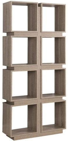 Modern Cube Bookcase -  2 Colors