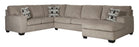 Ballinasloe Sectional - 2 colors