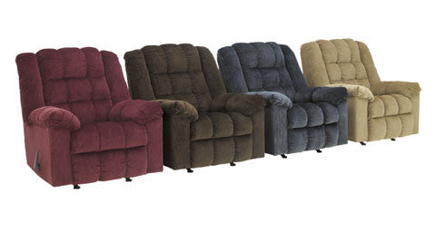 Ludden - Rocker Recliner - 3 Colors - Optional Power