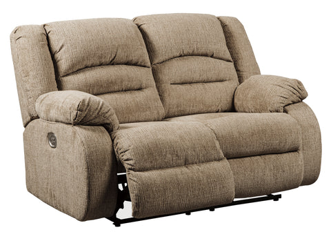 Labarre - Power Reclining Loveseat w/ Adjustable Headrest
