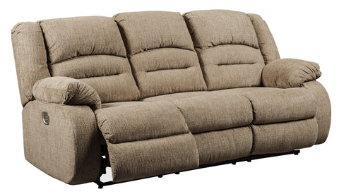 Labarre - Power Reclining Sofa w/ Adjustable Headrest