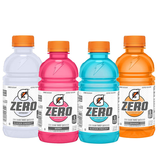 Gatorade Zero - 12 oz Bottle - 3 Flavors