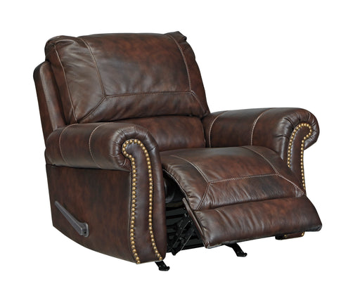 Bristan Leather Rocker Recliner