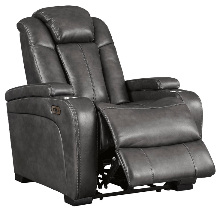 Turbulance - Power Recliner with Adjustable Headrest