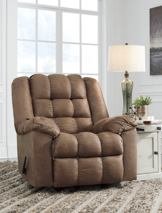 Adrano Rocker Recliner - Heat & Massage