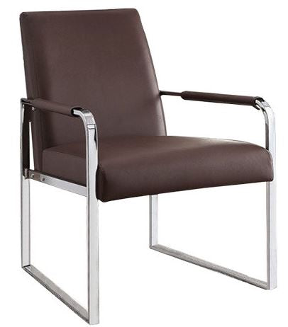 Elms Leatherette Accent Chair