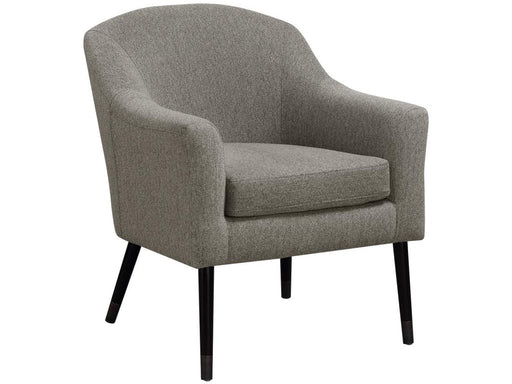 Accent Chair - Woven Fabric - Grey