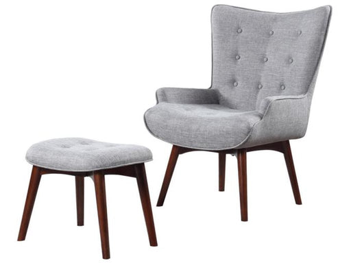 Accent Chair W/Ottoman