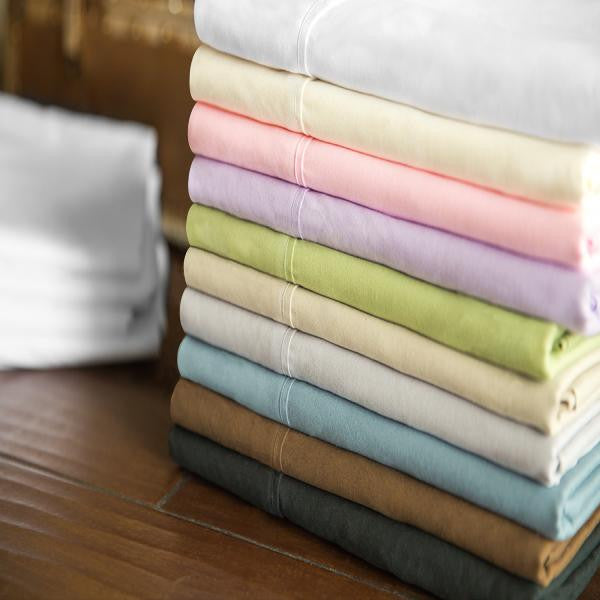 Malouf Brushed Microfiber Sheets - 10 Colors