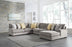 Fallsworth - RAF Sofa Chaise - Smoke