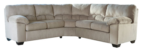 Dailey Sectional in 3 Colors