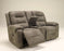 Rotation - Reclining Loveseat - Smoke - Optional Power
