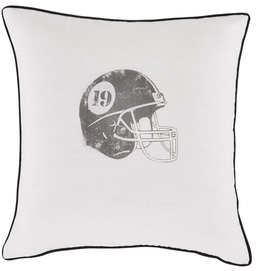 Waman Football Accent Pillow