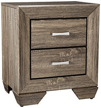 Kauffman - Nightstand - Washed Taupe