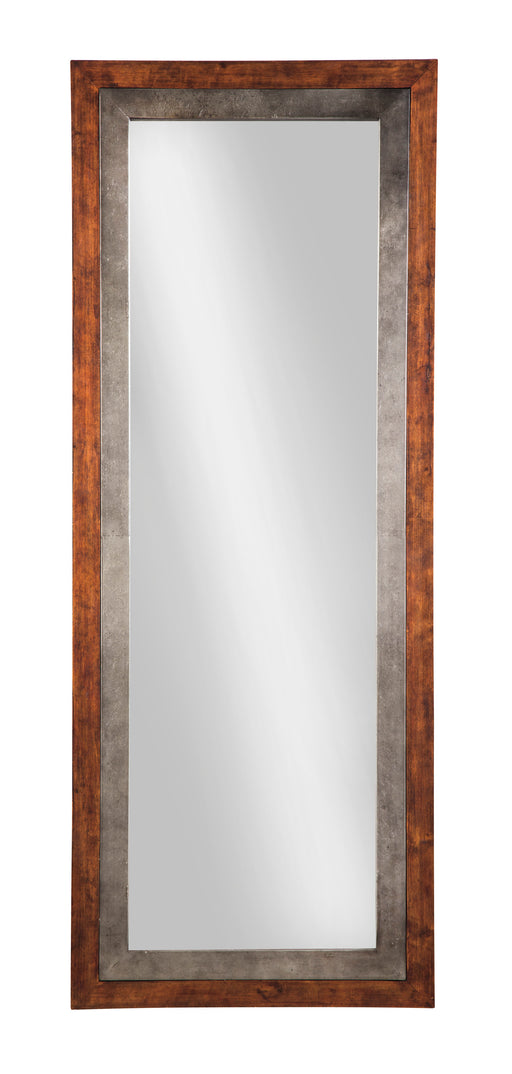 Niah - Brown/Silver - Accent Mirror
