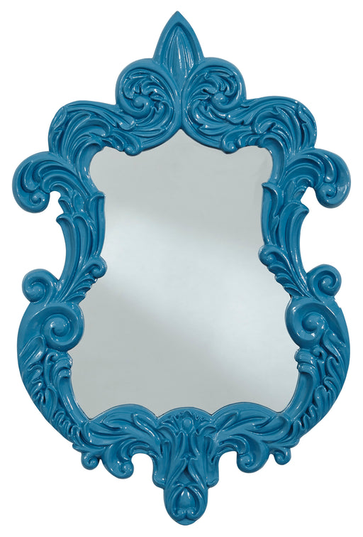 Diza - Blue - Accent Mirror
