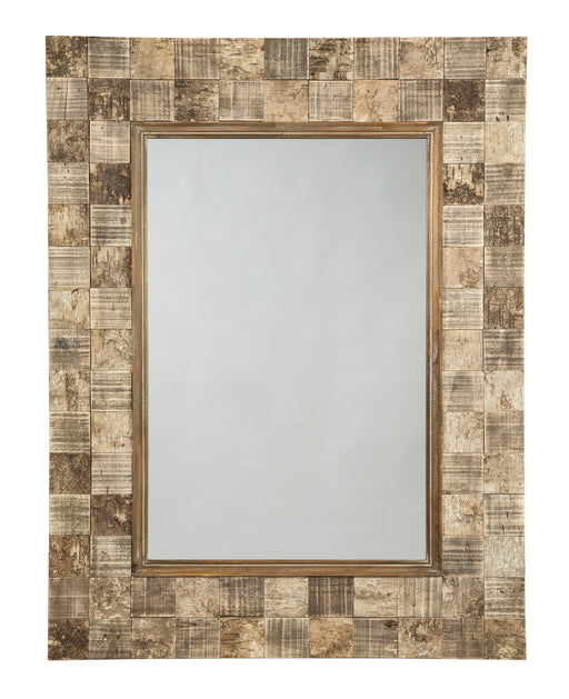 Ivanna - Brown - Accent Mirror