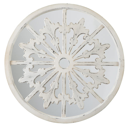 Emlen - Antique White - Accent Mirror