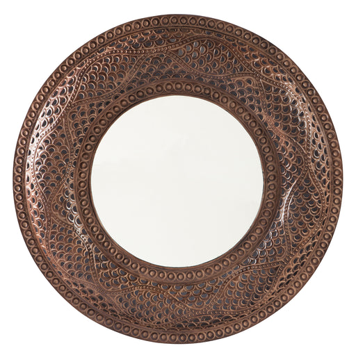 Elikapeka - Antique Brown - Accent Mirror