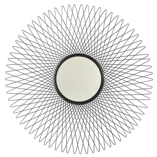 Dooley - Black - Accent Mirror