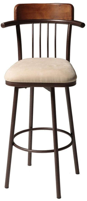 "Augusta 26"" & 30"" Metal Stool with Swivel-seat"