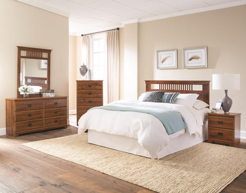 Ashland Bedroom Package - Abbey Oak