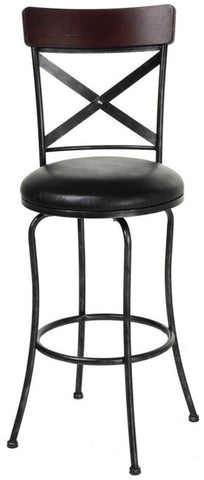 "Austin 26"" & 30"" Metal Stool with Swivel-seat"