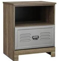 McKeeth One Drawer Night Stand