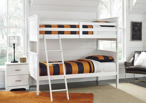 Lulu Bunk Bed White Furniture Express