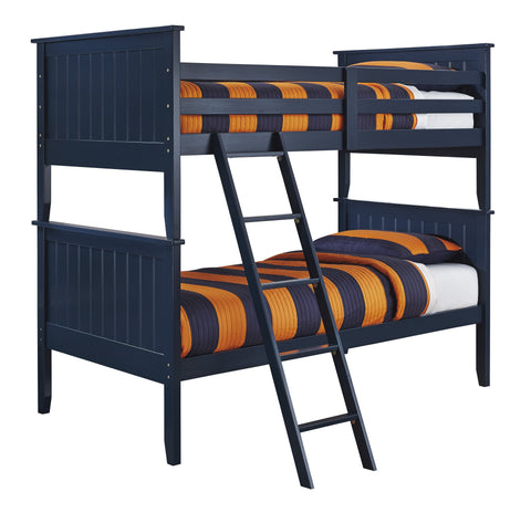 Leo - Bunk Bed - Blue